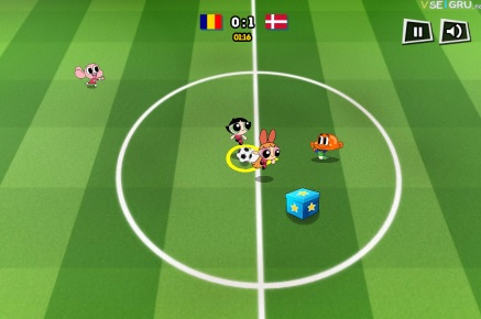 Gioco del calcio Cartoon Network 3D